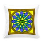 Eternal Flower Wheels 39 Everyday Pillow