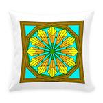 Eternal Flower Wheels 46 Everyday Pillow