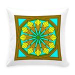 Eternal Flower Wheels 47 Everyday Pillow