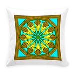 Eternal Flower Wheels 48 Everyday Pillow
