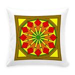 Eternal Flower Wheels 49 Everyday Pillow