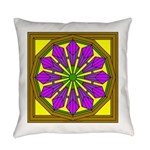 Eternal Flower Wheels 52 Everyday Pillow