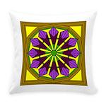 Eternal Flower Wheels 53 Everyday Pillow