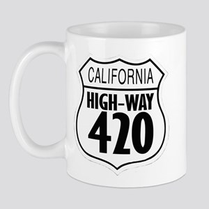 California High-Way 420 Mug