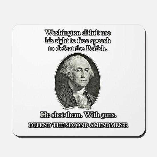 Washington Used Guns Mousepad