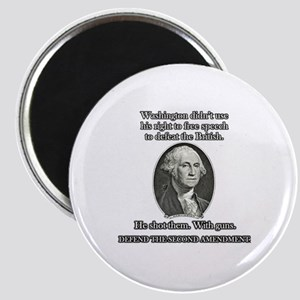 Washington Used Guns Magnet