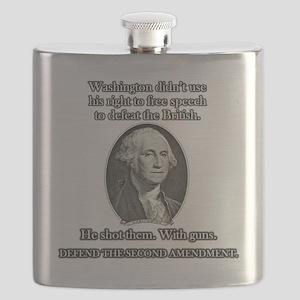 Washington Used Guns Flask