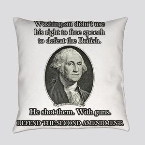 Washington Used Guns Everyday Pillow