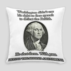 Washington Used Guns Everyday Pillow