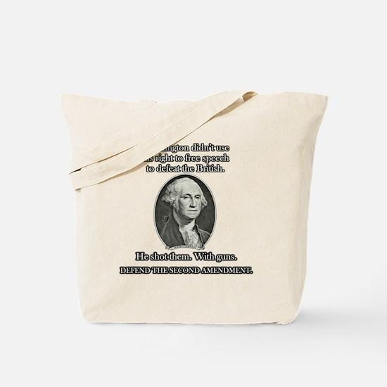 Washington Used Guns Tote Bag