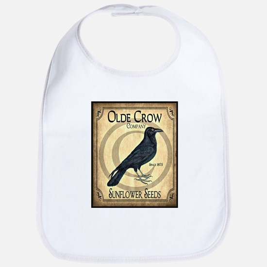 Vintage Olde Crow Sunflower Seeds Bib