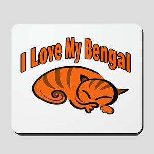 Bengal Cat Mousepad
