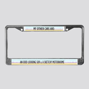 Walter White License Plate Frame