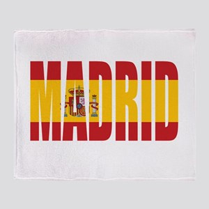 Madrid Throw Blanket