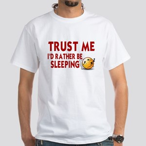 SLEEP. SLEEPINT. I'D RATHER BE SLEEPING T-Shirt