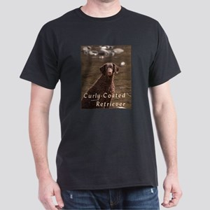 Curly Coated Retriever-4 Dark T-Shirt