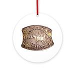 WY Centennial Ornament (Round)