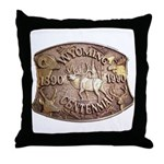 WY Centennial Throw Pillow