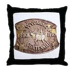 WY Centennial Throw Pillow