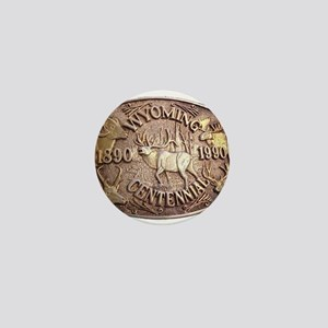 WY Centennial Mini Button