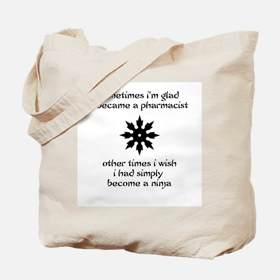 Ninja Pharmacist Tote Bag