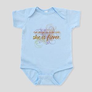 She is Fierce - Swirl Infant Bodysuit