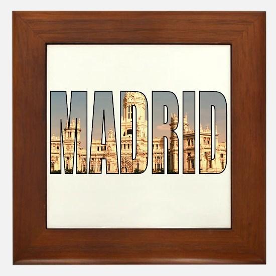 Madrid Framed Tile