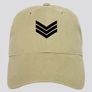 Royal Marines Sergeant<BR> Khaki Cap
