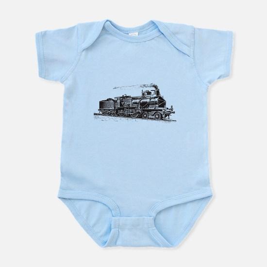 Vintage Steam Locomotive Body Suit
