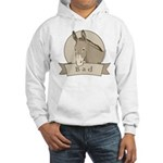 Bad Ass Men's Hooded Sweatshirt