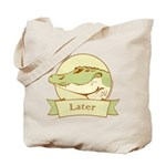 Later Alligator Tote Bag