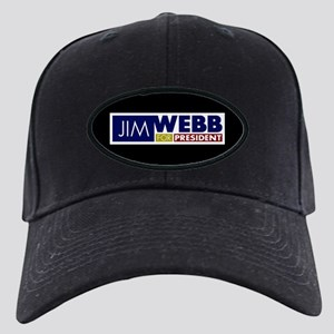 Jim Webb for President Black Cap