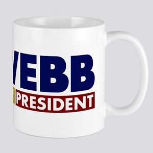 Jim Webb for President Mug