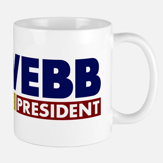 Jim Webb for President Mug