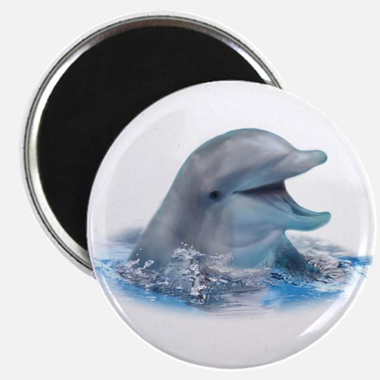 """Happy Dolphin 2.25"""" Magnet (100 pack)"""