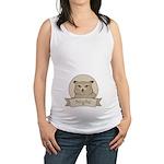 Night Owl Maternity Tank Top