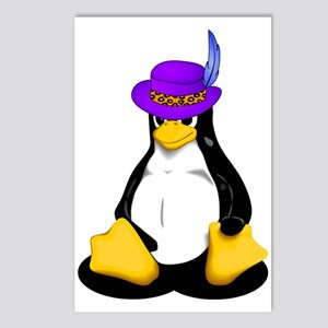 Linux Pimp Postcards (Package of 8)