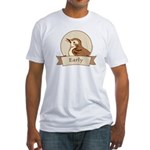 Early Bird Men's Fitted T-Shirt