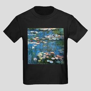 Waterlilies by Claude Monet, Vintage Impre T-Shirt