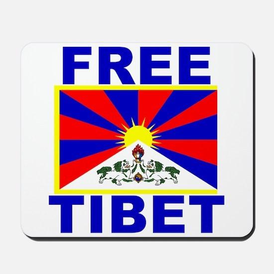 Free Tibet Mousepad