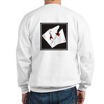 Cracked Aces Sweatshirt