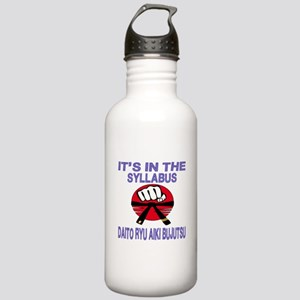 It's in the Syllabus D Stainless Water Bottle 1.0L