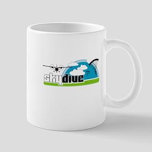 Skydive Dropzone Paradise Mug