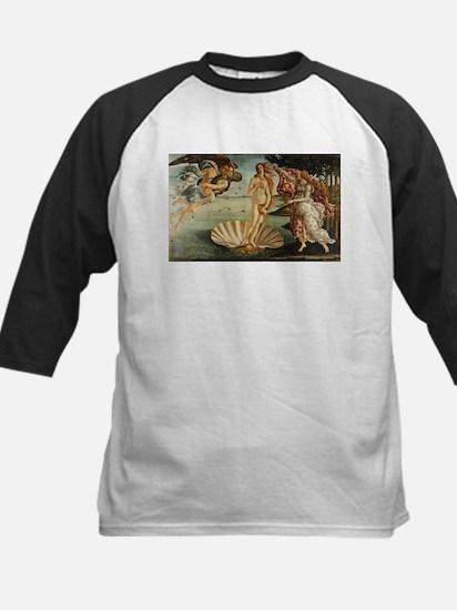 The Birth of Venus - Classic Art S Baseball Jersey