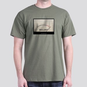Bullshit Meter1 Dark T-Shirt