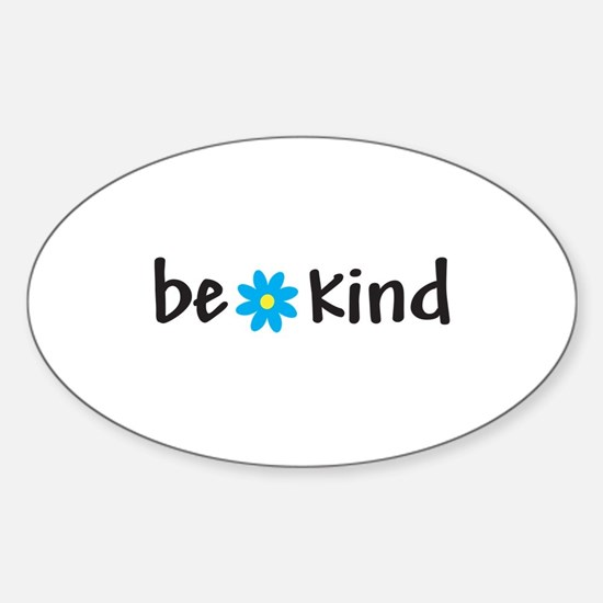 Be Kind - Oval Decal