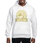Lucky Duck Men's Hooded Sweatshirt