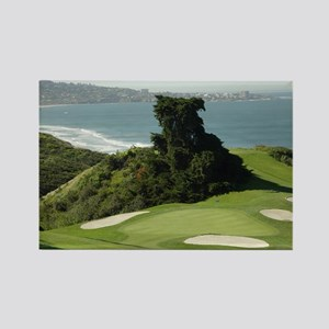Torrey Pines Rectangle Magnet
