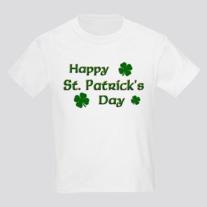 Happy St. Patrick's Day Kids Light T-Shirt