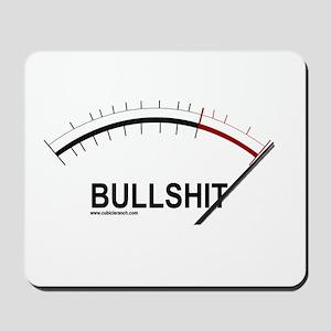 Bullshit Meter2 Mousepad